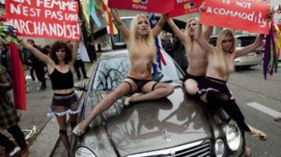 First FEMEN images after alleged KGB torture