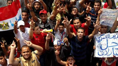 Egypt salutes president: Tahrir goes mad as Morsi addresses the nation