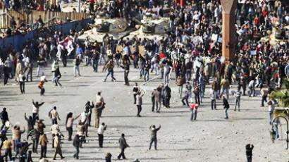 Alarming hush on Al Tahrir Square