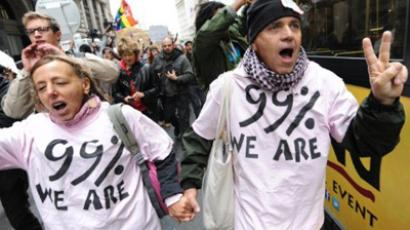 'A lot of media belongs to 1% that OWS rally against'