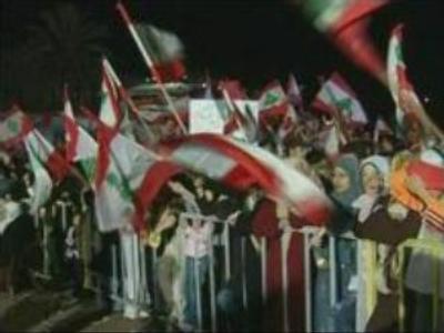 Protestors urge Lebanese PM to step down
