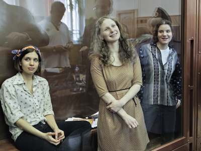 Inside Pussy Riot trial: Bombs, dogs and dresses (OP-ED)