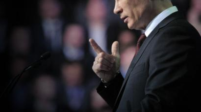 Putin laces up Russia's bootstraps