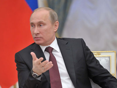 President Vladimir Putin (RIA Novosti / Aleksey Nikolskyi)