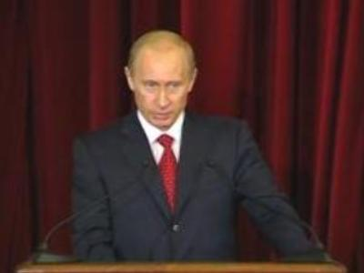 Putin urges weapons treaty talks with U.S.