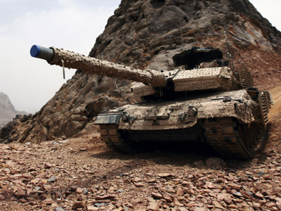 The battle tank Leopard 2 (Reuters/Nikola Solic)