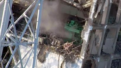 Fukushima nuclear power plant's fourth reactor on March, 17 (AFP Photo / Tepco via Jiji Press)
