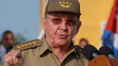 Cuban President Raul Castro (AFP Photo/Juan Pablo Carreras-Ain)