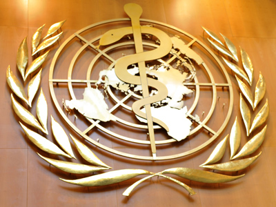 World Health Organisation's logo (AFP Photo / Fabrice Coffrini)