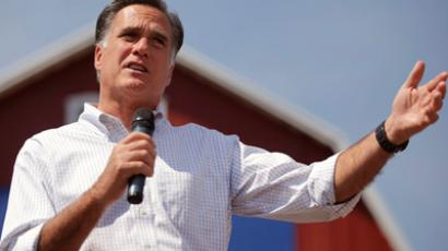 Presumptive Republican presidential nominee, former Massachusetts Governor Mitt Romney