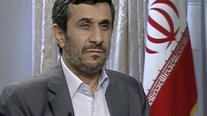Mahmoud Ahmadinejad interviewed by RT