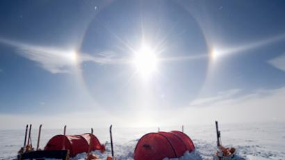 Russia parachutes cargo to South Pole for first time
