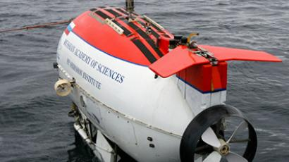 The Russian Mir submersibles are used for underwater research (RIA Novosti / Nikolay Ryutin)