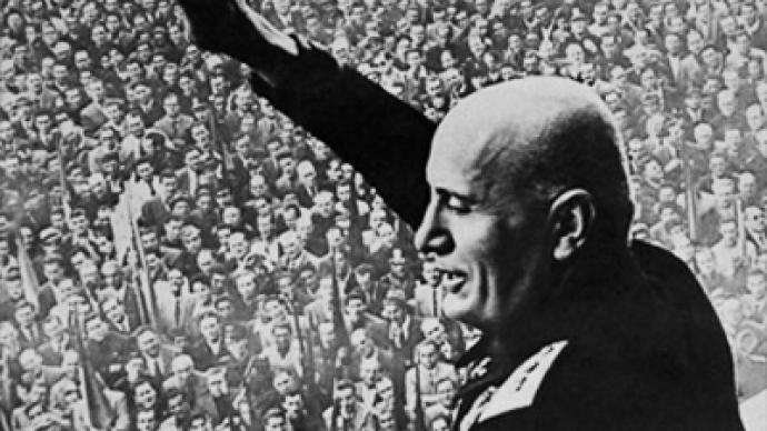 Russia bans Mussolini — RT News
