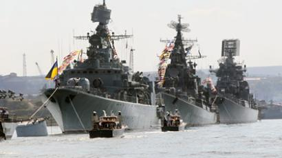 The Russian Black Sea Fleet ships (RIA Novosti / Alexey Kudenko)