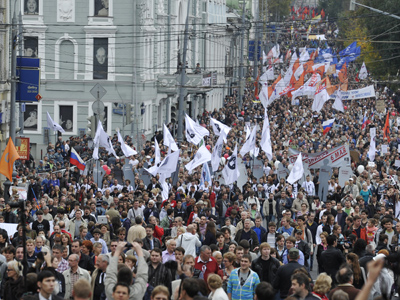 Russian opposition rallies: LIVE updates