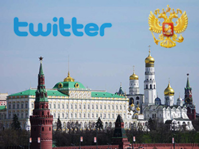 Russia's President goes on Twitter
