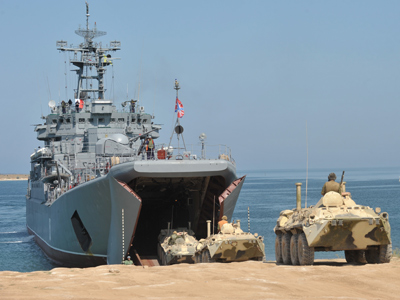 Russian warships 'ready to sail for Syria'