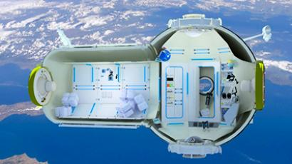 Commercial Space Station (photo and video from orbitaltechnologies.ru)