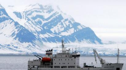 Russian cruise ship Alexej Maryshev in Spitsbergen, Norway (AFP Photo / Governor of Svalbard / Scanpix Norway / Norway out)
