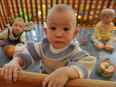 Russian society split over bill set to ban US adoptions