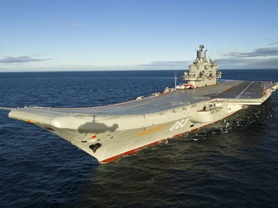 Heavy aircraft-carrying missile cruiser Admiral Kuznetsov (image from http://pilot.strizhi.info)