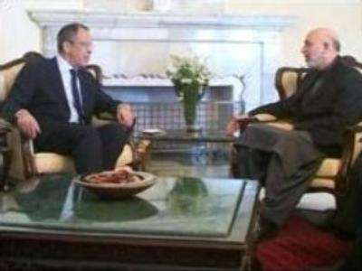 Russian Foreign Minister's visit to Afghanistan: meeting with top leaders