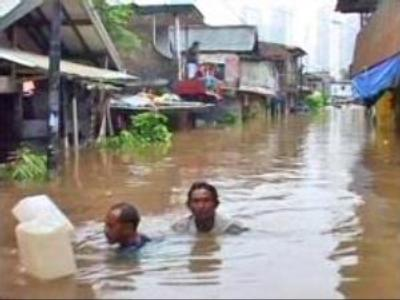 Russian man missing in Jakarta flood