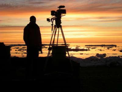 "On the set of the Aleksey Popogrebsky's film ""How I Ended This Summer,"" on the polar station Valkarkay, near the Shelagsky Cape -- the northernmost point of Chukotka (RIA Novosti)"