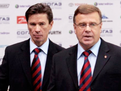 Russian national hockey coaches join Salavat Yulaev