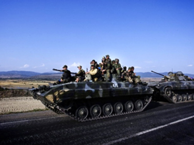 Russian peacekeepers to patrol security zones in Ossetia