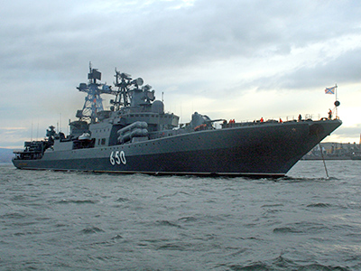 Russian warships on maneuvers, will re-supply in Syria