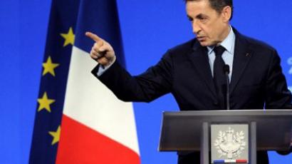 Nicolas Sarkozy (AFP Photo / Eric Feferberg)