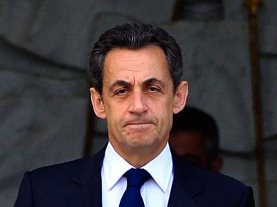 Nicolas Sarkozy.(REUTERS / Yves Herman)