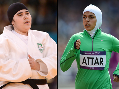 Saudi female athletes:  Heroes in London, 'prostitutes of the Olympics' at home