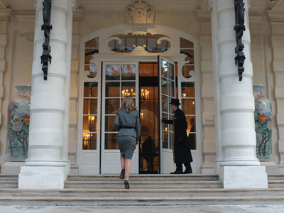 Shangri-La Hotel in Paris (AFP Photo / Eric Piermont)