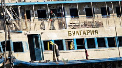 The salvaged motor vessel Bulgaria (RIA Novosti / Valery Melnikov)