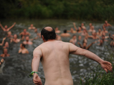 Showing some cheek: Naked swimming takes off in Britain
