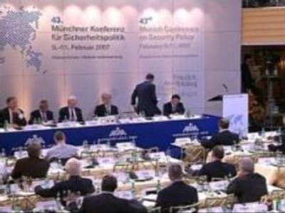 Security Conference in Munich ends
