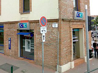 CIC bank, Toulouse, France