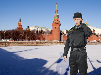 Secret service eliminates 2-meter-long threat to Kremlin
