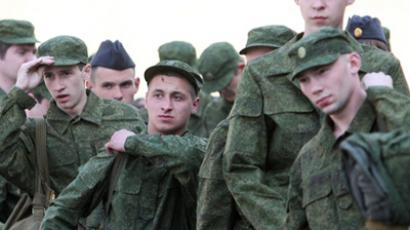 Soldiers in the Russian army (RIA Novosti / Igor Zarembo)
