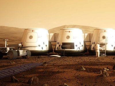 Martian countdown: One-way ticket to Red Planet in 2023