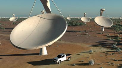 Artists impression of the Square Kilometre Array (SKA) radio telescope project (REUTERS/Handout)