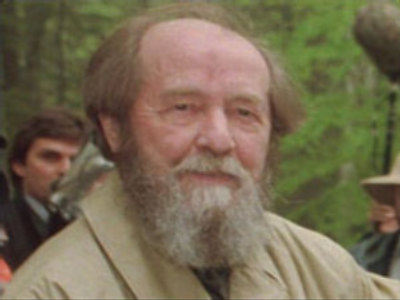 Solzhenitsyn slams West for attitudes towards Russia