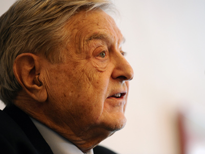 George Soros (AFP Photo / Vincenzo Pinto)