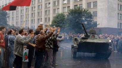 Last-ditch attempt to save Soviet Union remembered 20 years on