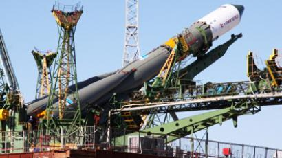 Powerful communication satellite launches from Kazakhstan