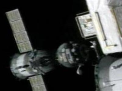 Soyuz space module successfully docks with ISS