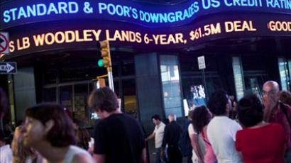 The Standard and Poor's rating agency is facing an inquiry after it stripped the US of its top AAA rating last week (Andrew Burton / Getty Images / AFP)